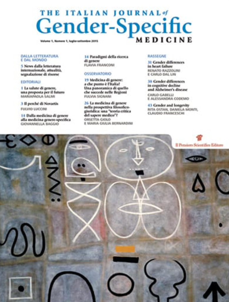italian journal specific gender medicine